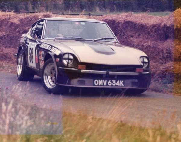 JohnI's 240Z @ Valence Hillclimb (no longer owned)